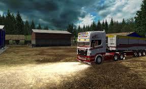 100 German Truck Simulator Min Bil I Diverse Lastbil Fotos Fra Mike L