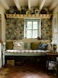 tapeten landhausstil frische ideen wie sie die wände