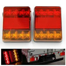 2Pcs 8 LEDS Car Truck Rear Tail Lights Warning Rear Lamps Waterproof ... 2 Led 4 Round Truck Trailer Brake Stop Turn Tail Lights With Red 2007 Ford F150 Upgrades Euro Headlights And Truckin 6 Oval 10 Diode Light Wgrommet Plugpigtail Amazoncom Toyota Pick Up 41988 Lens Lenses Signal Tailgate 196772 Gm Billet Digitails Close Of Tail Lights On A Fire Truck Stock Photo 3956538 Alamy New 2x Led Indicator 24v Waterproof Spyder 042012 Chevy Colorado Hilux Pickup 4x2 4x4 89 95 Clear Red 42008 Recon Smoked 264178bk W Builtin Flange 512