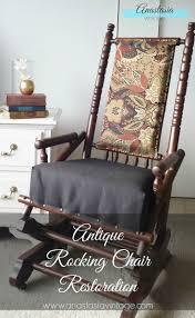 Antique Rocking Chair Restoration: Broken To Beautiful  