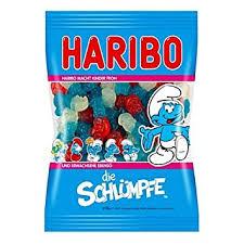 Haribo Smurf Die Schlumpfe Gummi Candy 200g Bag