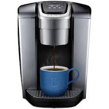 K Elite Single Serve Coffee Maker Keurig Hot Brewer In Brushed Silver