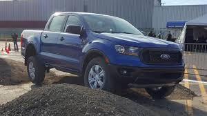 2019 Ford Ranger Specs And Driving Impressions