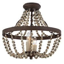 Rustic French Country Ceiling Light