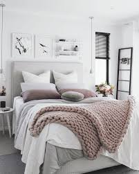 Teens Bedroom Decorating Girls Rectangle White Grey Modern Wall Wood Pillow Vases Flowers Seat Lamp