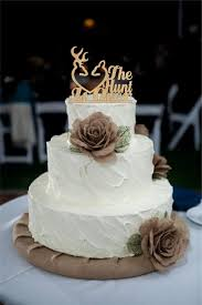 This Wedding Cake Topper Rustic The Hunt Is Over Deer