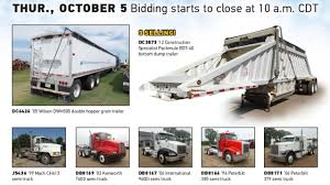 Truck And Trailer Auction | October 5, 2017 | Purple Wave - YouTube 1983 Kenworth K10 Semi Truck Item Dq9447 Sold September Truck Bank Repos For Sale Special Lender Financi Flickr 2000 Freightliner Fld Db0028 Decem 1972 Mack R Sale Sold At Auction July 16 2015 1986 Volvo White J6216 August 18 T Ok And Trailer Sales Alinum Semi Trailers For Livestock Cfigurations Awesome Trucks In Okc 7th And Pattison Refuse Trash Street Sewer Environmental Equipment 1999 T800 K8818 June 30 C Med Heavy Trucks For Sale 2009 Fld120 Sd Db4076