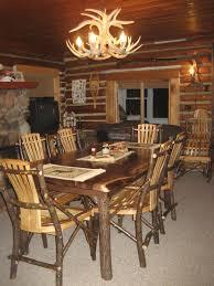 Rustic Mahogany Dining Room Set Unique Sets