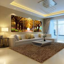 keine frames 3 stücke baum bilder home dekoration wand gemälde für schlafzimmer wohnzimmer kunst günstige große leinwand druck ölgemälde