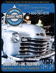Classic Parts Of America | 1947-54 Chevrolet & GMC Restoration Parts ...