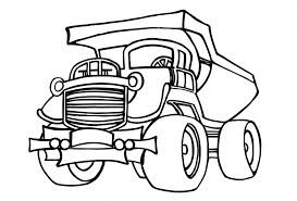 Chevy Coloring Pages Food Truck Colouring Kids
