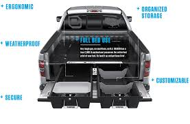 Pickup Truck Bed Organizers And Storage Systems | Gun Storage In ...