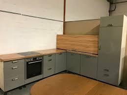 gebrauchte grau braune l form küche inkl geräte sofort ab lager