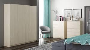 schlafzimmer set b kiunga 3 teilig farbe buche weiß