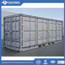 100 20 Foot Shipping Container For Sale Hot Item FT Gp Full Side Wall Opened Dry Cargo Hot S Made In China