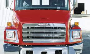 100 Raney Truck Parts Freightliner FL 60 70 80 106 112 120 Grill Stainless Steel Overlay