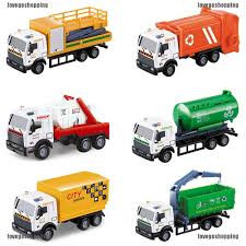 100 Toy Car Carrier Truck 143 Rier Vehicle Garbage Diecasts Children Vehicles S