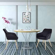 e starain esszimmerstühle 2er set küchenstuhl polsterstuhl