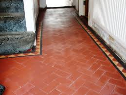 terracotta tiled floor restoration in chingford south essex tile