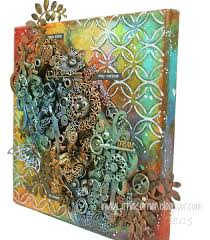Viva Decor Inka Gold Dried Out by In My Little Korner Mixed Media Dream Canvas