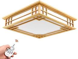 japanisch deckenle tatami le holz led schlafzimmer studie wohnzimmer le massivholz le umweltfreundliche beleuchtung dimmbare