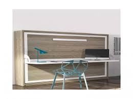 lit avec bureau int r lit armoire lit luxury armoire lit transversale spacio couchage 140