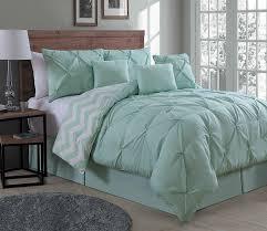 amazon com geneva home fashion 7 piece ella pinch pleat comforter
