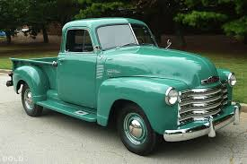 51 Chevy 3100. Clean, Simple, And Stock....exactly The Way I Like ...
