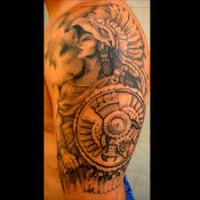 Whether You Are From Mexico Have Mexican Heritage Or Simply Love And Respect Culture Getting A Warrior Tattoo Is Great Expression Of