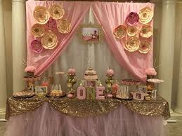 Pink White And Gold Birthday Decorations by Best 25 Party Table Cloths Ideas On Pinterest Table Clothes