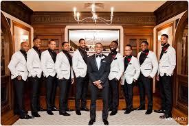 Groom Groomsmen White Tux Jacket Us Grant Wedding