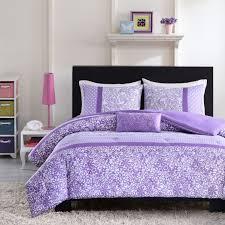 Teen Bedding Target by Amazon Com Mizone Riley 4 Piece Comforter Set Full Queen Purple