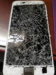 We fix cracked screen iphone 6 plus part n labor $85 puter