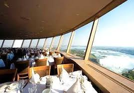 Skylon Tower Revolving Dining Room by Las Vistas Del Las Cataratas Del Niágara Desde Skylon Tower En El