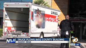 100 Small Uhaul Truck Driver Crashes UHaul Truck Into San Diego County Health And Human