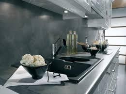 cuisine plan de travail gris cuisine classique plan de travail gris foncé