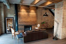 Erie Street Loft With Pallet Fireplace