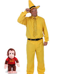 Curious George Toddler Bedding by Curious George Man In The Yellow Hat Deluxe Costume Set Walmart Com