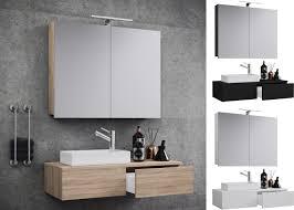 vcm waschplatz waschtisch waschbecken schrank spiegel wc gäste toilette badmöbel klein schmal gudas spiegelschrank 3 tlg waschplatz waschtisch