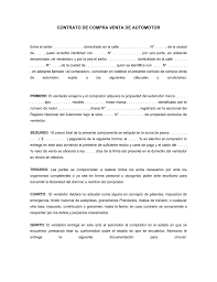 CONTRATO DE COMPRA VENTA DE AUTOMOTOR