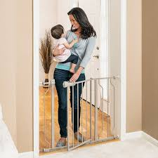 Evenflo Circus High Chair Recall by Amazon Com Evenflo Easy Walk Thru Doorway Gate Tan Indoor