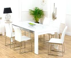 Dining Table For 6 Garage Appealing White And Chairs Room Glass Top 36 X 60