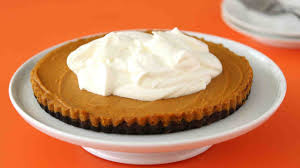 Libbys Pumpkin Cheesecake Kit by Chocolate Pumpkin Tart