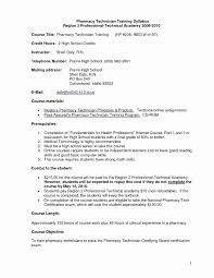 Resume Format For Technician Beautiful Pharmacy Unique Tech Template Jpg 1275x1650