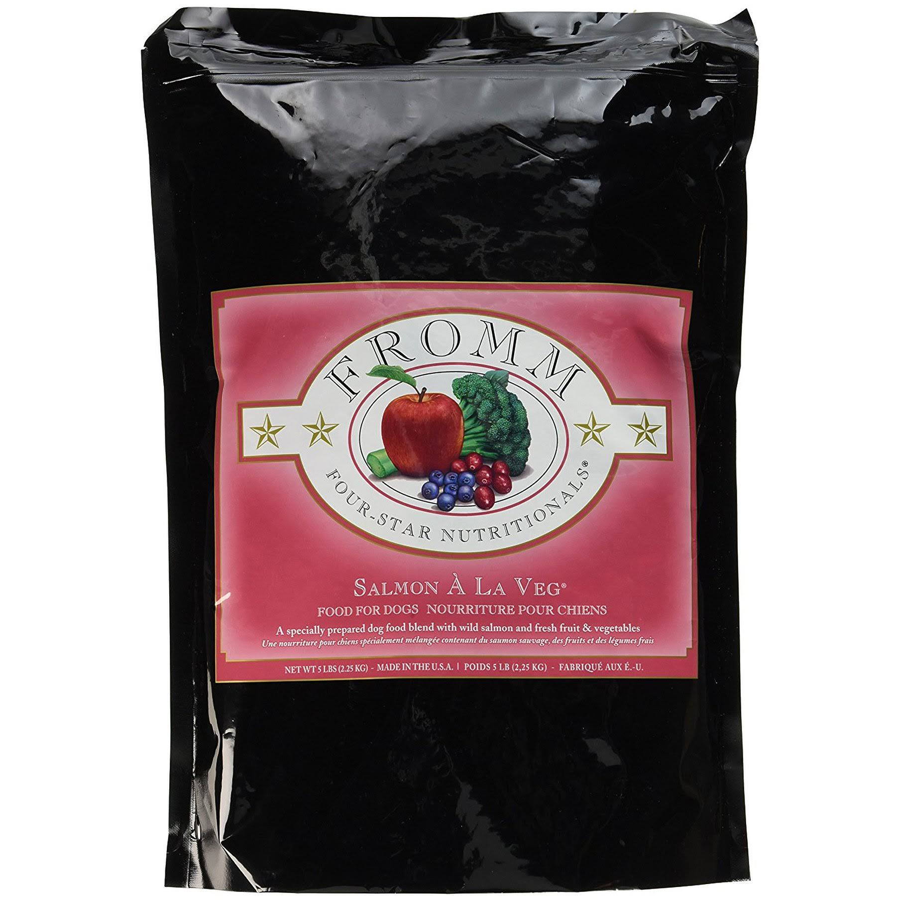 Fromm 4-Star Dog Food - Salmon A La Veg