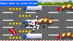 Blocky Turbo Race Cars 2D: Traffic Games 15 APK Download - Android ...