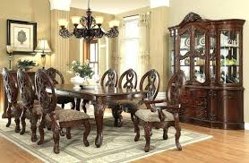 Formal Dining Room Tables Set With Leg Table Centerpieces Decorating Ideas