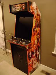 Mame Arcade Machine Kit by Pete U0027s Slim Arcade Project Completed