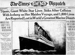 Sinking Ship Simulator The Rms Titanic by Titanic Newspaper Articles Titanic Newspaper Article The Times