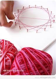 String Art For Kids Tutorial Step 5